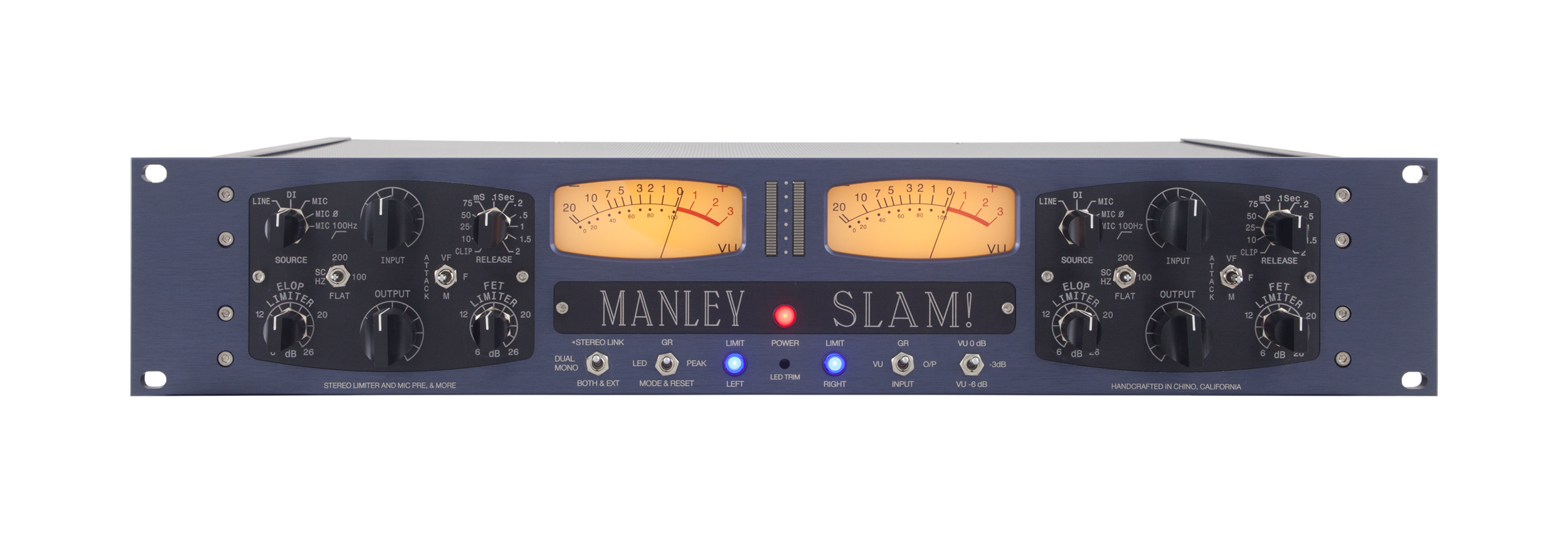 MANLEY SLAM Stereo Limiter and Mic PreAmp