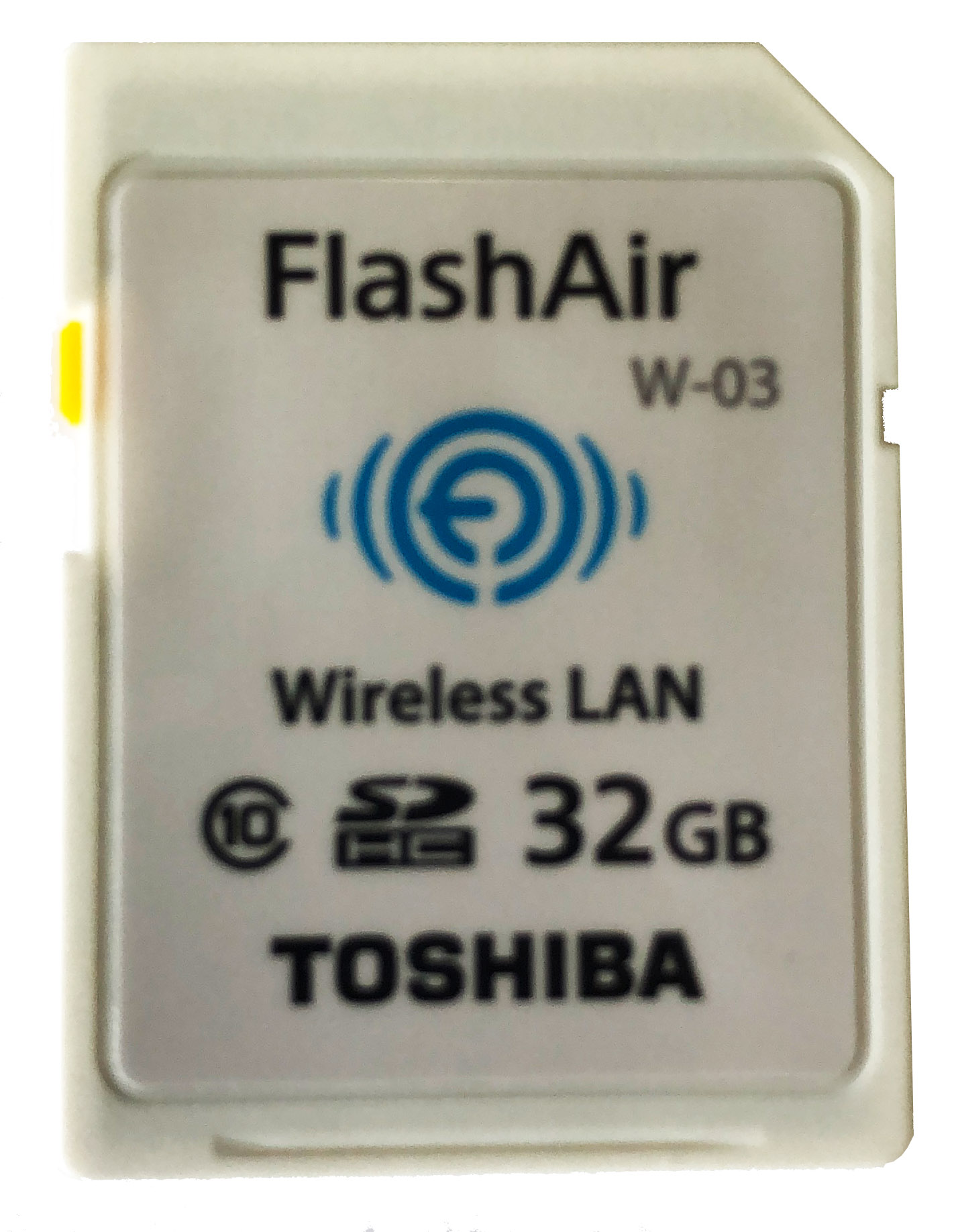 TOSHIBA FlashAir 32GB WiFi SD card